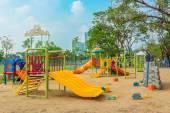 Children's playground leftover — Stock Photo