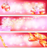 Pink celebration and sales ornament banner background, create by — Cтоковый вектор