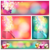 Colorful celebration ornament banner background, create by vecto — Cтоковый вектор