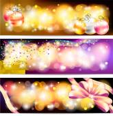 Colorful celebration and sales ornament banner background, creat — Cтоковый вектор