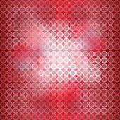Röd digital blinkande ljus bakgrund — Stockvektor