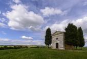 Tuscan chapel — Stock Photo