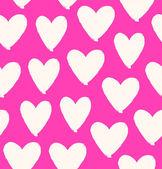 Kalp seamless modeli — Stok Vektör