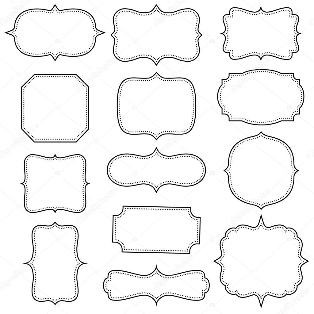 marcos vintage vector de stock 59869405 depositphotos rectangle clip art face rectangle clip art face