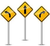 Vector arrows signs — Stock Vector