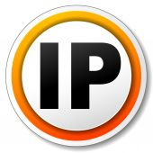 Ip address icon — Stockvektor