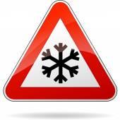 Cold sign — Vector de stock