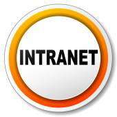 Intranet icon — Stock Vector