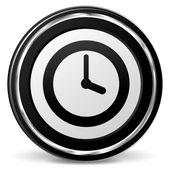 Time black icon — Vettoriale Stock