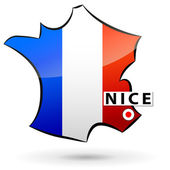French icon — Stock Vector