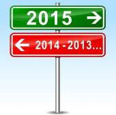 Conceito de ano novo — Vetorial Stock