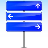 Directions signs — Stock Vector