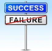 Success sign — Stock Vector