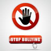 Stop bullying — Stock Vector