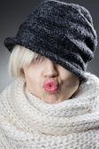 Beautiful plump lips — Stock Photo