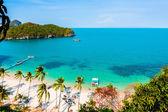 Summer island beach — Foto Stock