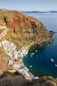 View from Amoudi Santorini — Stock Photo