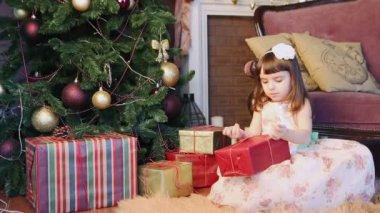 Holiday happy mood — Stock Video