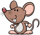 Cartoon rat — Stock Vector