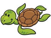 Turtle — ストックベクタ
