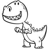 Dinosaur — ストックベクタ