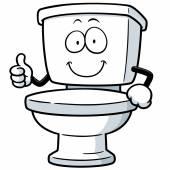 Toilet — Stock Vector