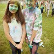 Постер, плакат: MOSCOW SEPTEMBER 6 2014: Color Fest September 2014 in Moscow