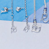 Silver Jewelry — Stock Photo