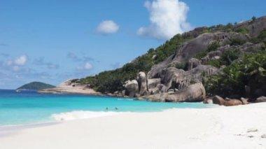 Seychelles beach — Stock Video