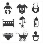 Baby Stuff Icon — Vettoriale Stock