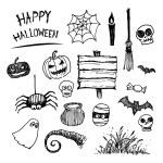 Halloween icon set — Stock Vector #55497407
