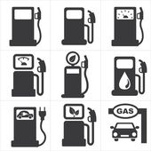 Icons Alternative Energy — Stock Vector