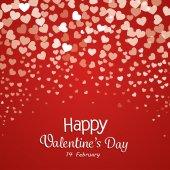 Mutlu Sevgililer günü kartları — Stok Vektör