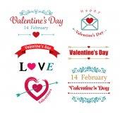 Valentines day symbol — Stock Vector