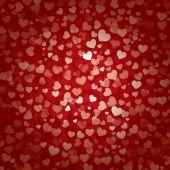 Fundo de coração dia dos namorados — Vetor de Stock