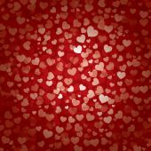 Valentines day heart background — Stockvektor