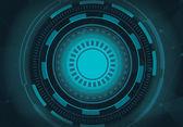 Sphere technology background — Vetor de Stock