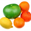 Mix of citrus fruits — Stock Photo #61323129