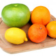 Mix of citrus fruits — Stock Photo #61323295