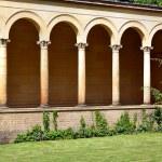 Friedenskirche facade columns — Stock Photo #68416251
