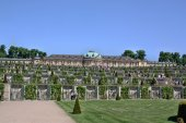 Palace Schloss Sanssouci — Stock Photo