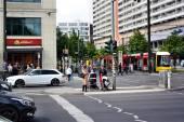 Traffic in Berlin — Stock Photo