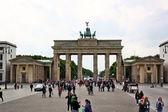 Brandenburger Tor (Brandenburg Gates) in Berlin — Stock Photo