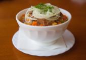 Suppe hautnah — Stockfoto