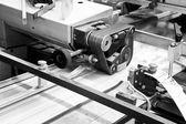 Folding machine — Стоковое фото
