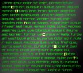 Lorem Ipsum text with highlighted word Concept — ストック写真