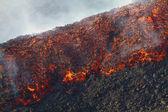 Lava flow detail — Stock Photo