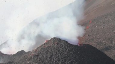 Mount Etna explosion — Stock Video