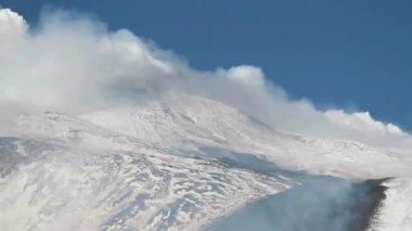 Etna eruption — Stock Video