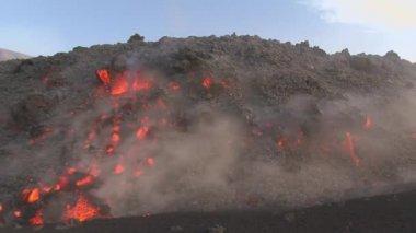 Volcano eruption — Stock Video